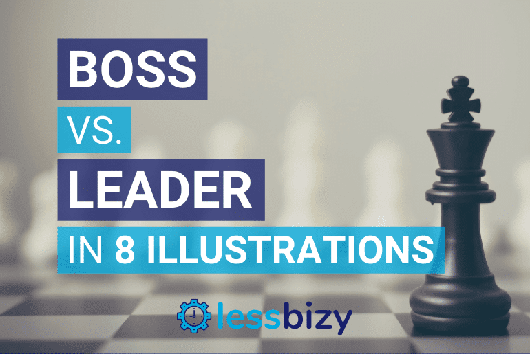 Boss vs Leader 8 Illustrations