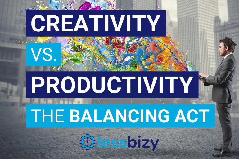 Creativity vs Productivity - The Balancing Act