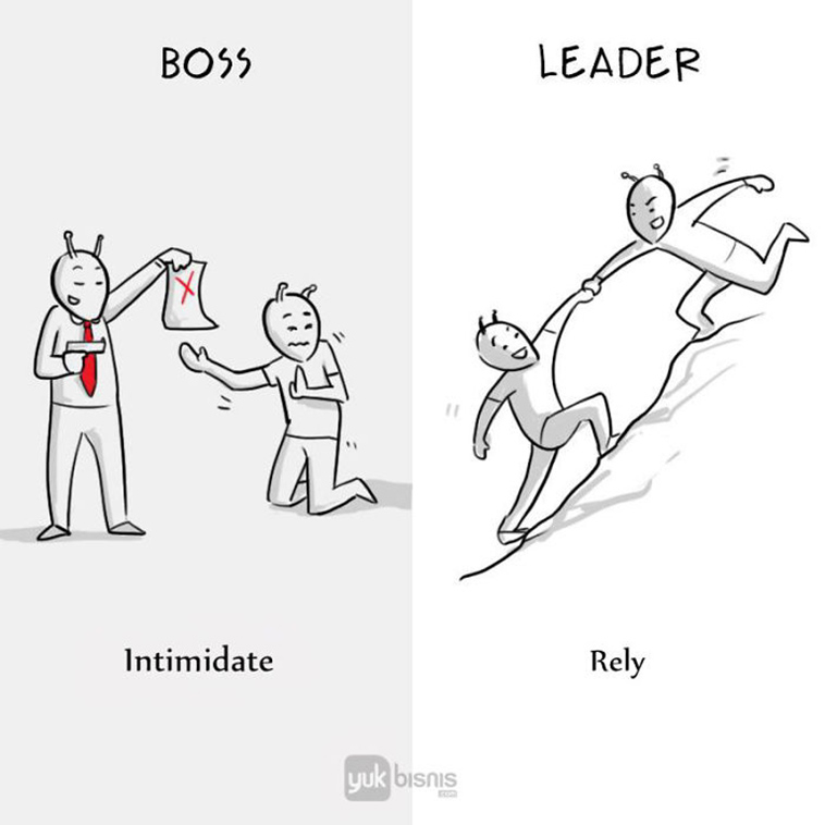 Leaders can be relied upon