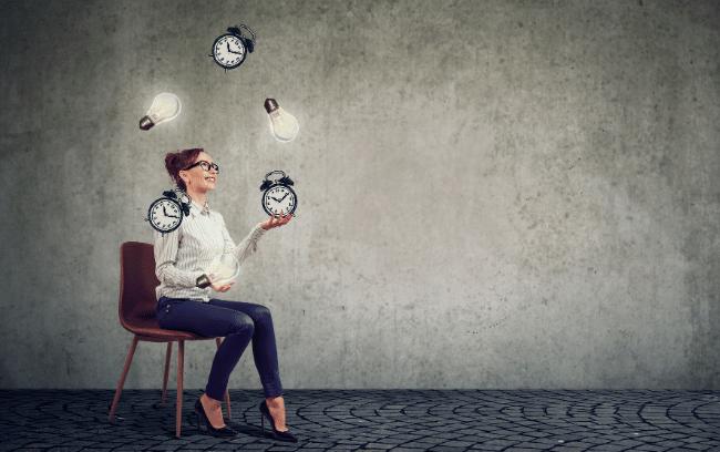 Juggling productivity and creativity