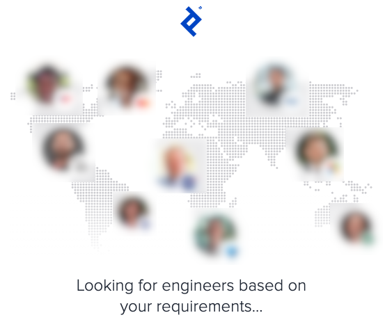 Toptal engineer search to find to match requirements